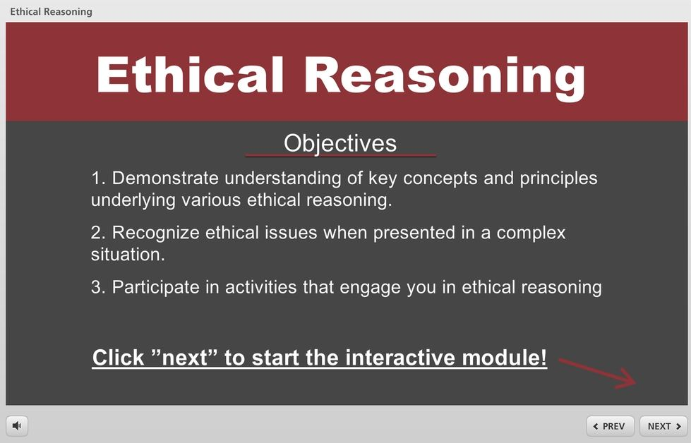 Ethical Reasoning Module